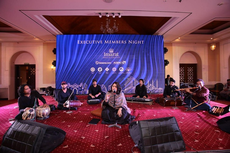 Sanam Marvi enthralls audience at Imarat Sufi Night Gala
