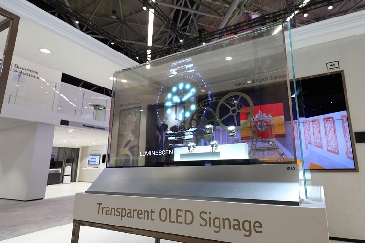 LG Electronics Showcases Its Superior Information Display Solutions at ISE 2019