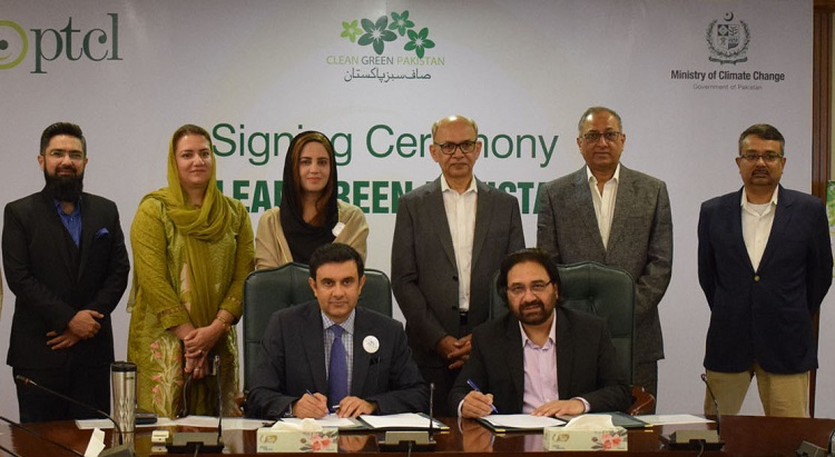 PTCL & Ministry of Climate Change collaborate for a Green Pakistan