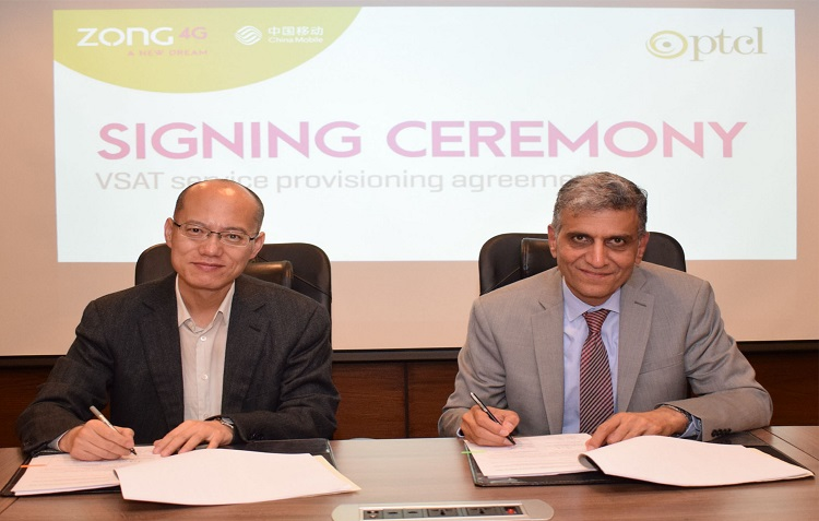 Zong 4G partners with PTCL for Network Expansion in Remote areas of Pakistan
