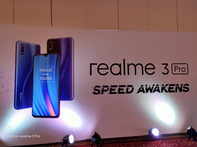 Realme unveils 2 new products Realme 3 Pro & Realme C2 at the anniversary launch event
