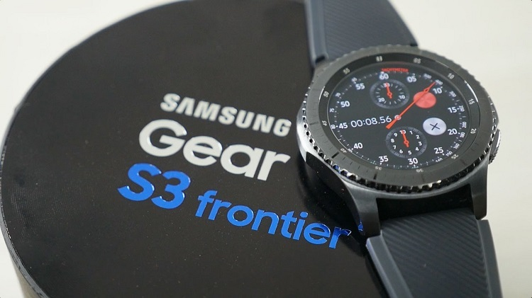 Amazon lowered the price of Samsung Gear S3 Frontier Smartwatch