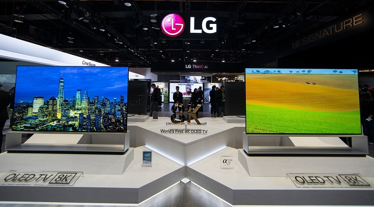 LG Electronics Announces Start of Sales of World's First 8K OLED TV