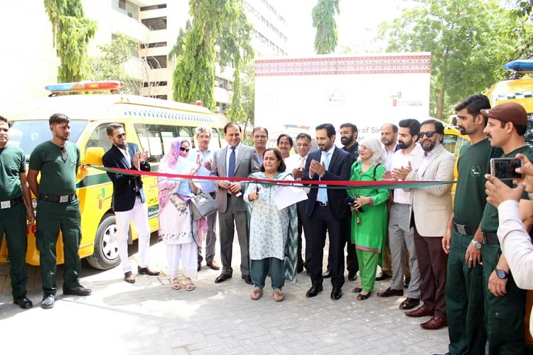 Sindh Rescue and Medical Services launched at the Sindh Secretariat
