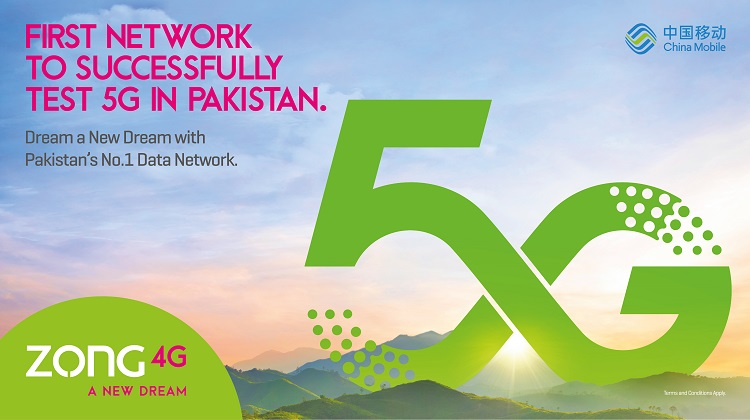 Zong CMPAK conducts Pakistan's first successful 5G trials
