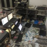 Illegal Gateway Exchange Raided in Faisalabad
