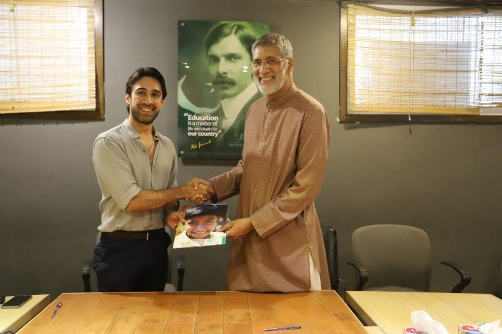 Ali Rehman Khan Joins TCF Ambassadors Program To Enable Education for All