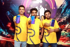 realme organized youth's beloved online multiplayer game PUBG MOBILE encounter on realme 3 pro