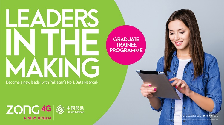 Zong 4G GTO Program Recruits Leaders of Future