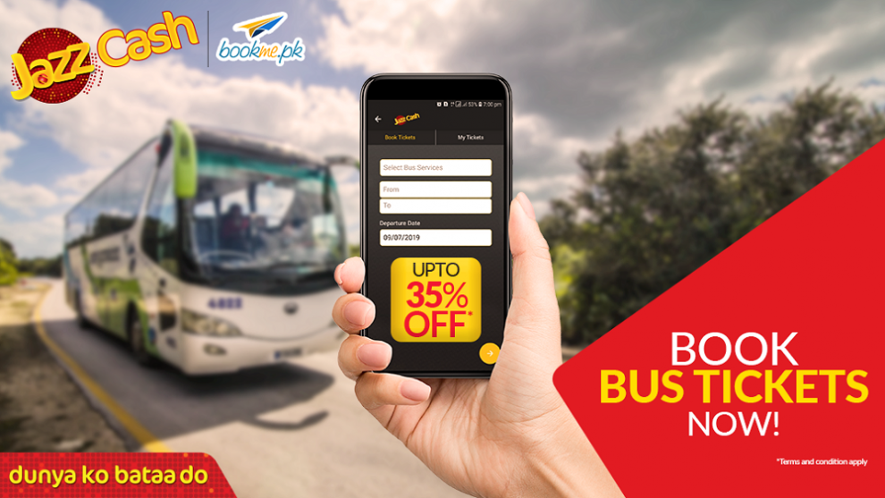 JazzCash Introduces In-App Bus Ticketing Feature