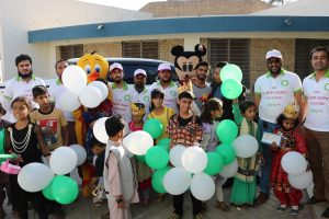 ZONG 4G New Hope Volunteers spend a day at SOS Children's Village in Quetta