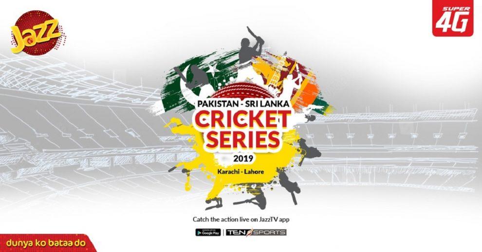 Jazz TV streaming Pakistan-Sri Lanka series for cricket fanatics