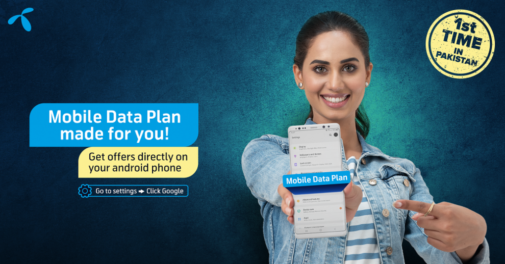 Telenor Pakistan becomes the first Telco to launch Mobile Data Plan for Android users in Pakistan