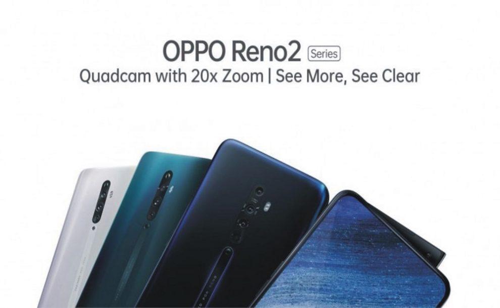 Photography Powerhouse OPPO Reno 2 Series Set to Redefine Creativity
