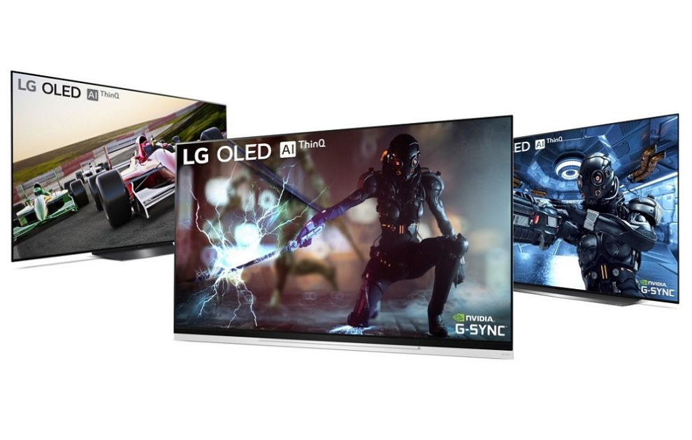 LG OLED TVs to Receive NVIDIA G-Sync Upgrade Starting This Week