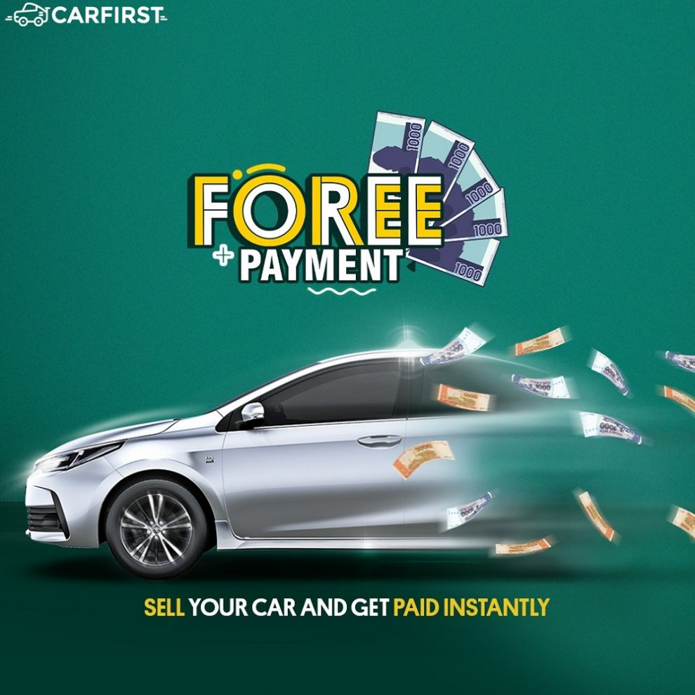 FOREE PAYMENT MARKS CARFIRST AS THE FASTEST WAY TO SELL A CAR