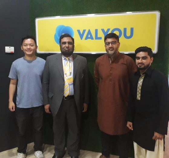 Pakistan's Ministry of Science and Technology Official visits Valyou Office in Malaysia