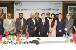 Edotco and Zong4G partner to strengthen 4G coverage in Pakistan