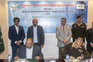 SCO and Edotco Intends Cooperating For Telecom Infrastructure Development in Aj&K and GB
