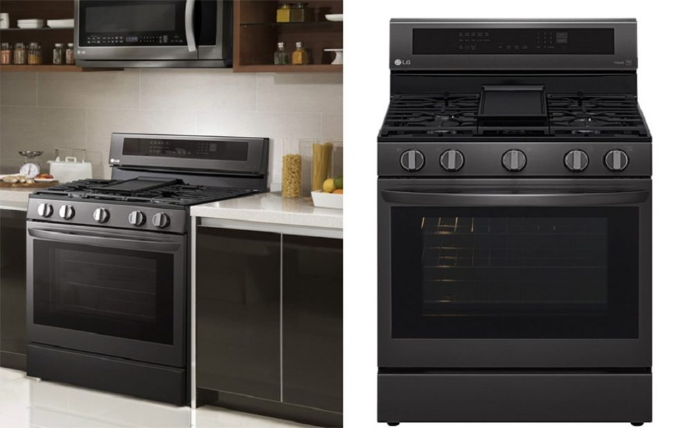 LG Introduces Air Fry and Knock-On InstaView Technology to Connected Ovens