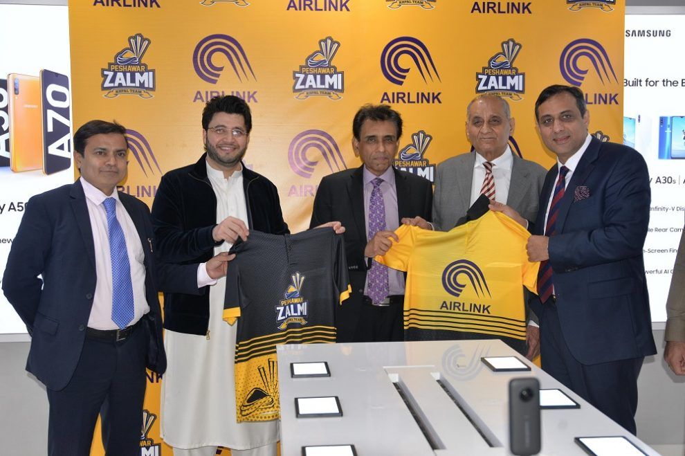 Airlink Communication Limited is honored to announce its leading partnership with Peshawar Zalmi