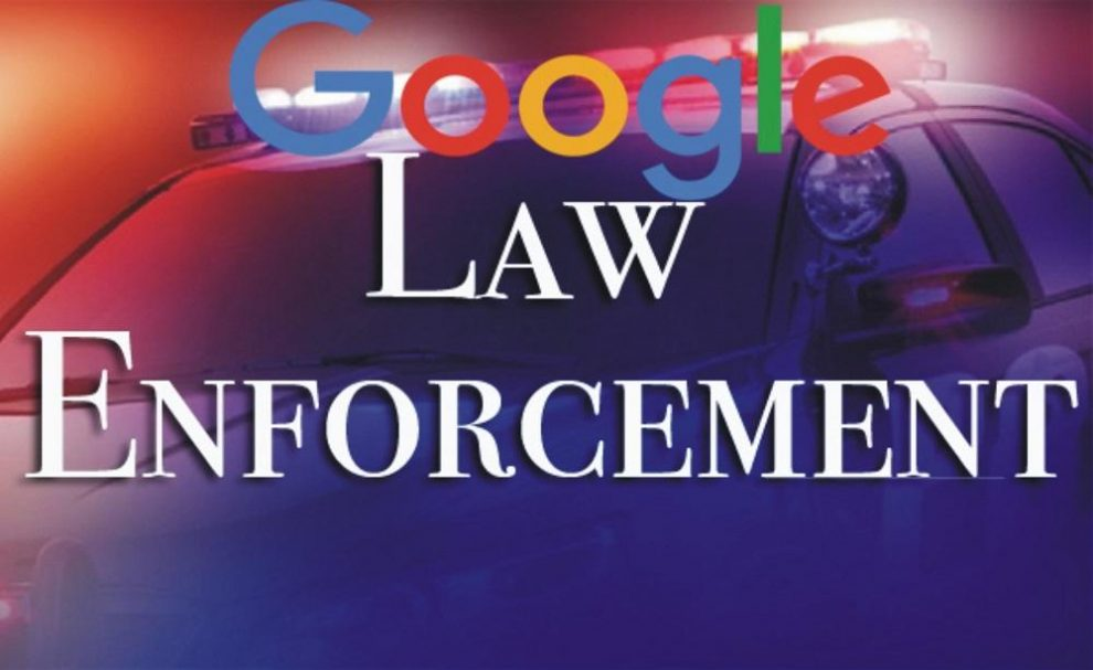 Google charge law enforcement and government agency fees for access to user data