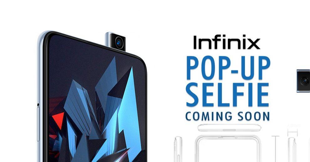 Infinix Pop-up camera phones are no more myths
