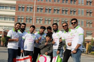 Zong 4G brings joy in Shaukat Khanum Memorial Trust, Peshawar