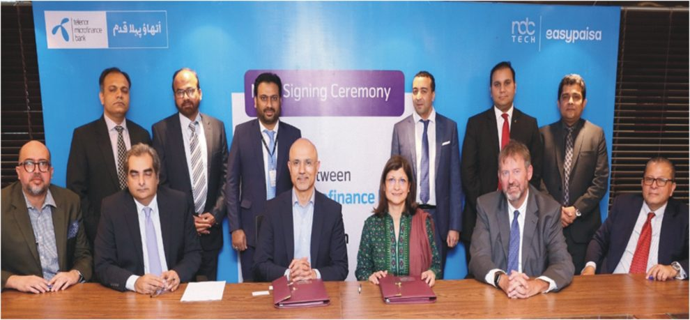 TELENOR MICROFINANCE BANK SIGNS AGREEMENT WITH NDCTECH TO UPGRADE CORE BANKING SYSTEM