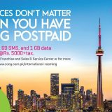 ZONG 4G offers the most Affordable roaming rates to USA & CANADA