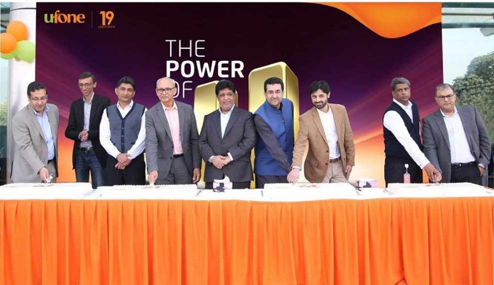 Ufone celebrates 19 years of successful operations in Pakistan