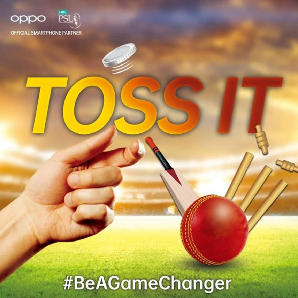 Toss the Coin this PSL with OPPO