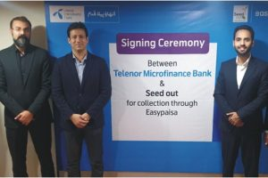 Easypaisa partners with Seed Out to Digitize Payment Collection
