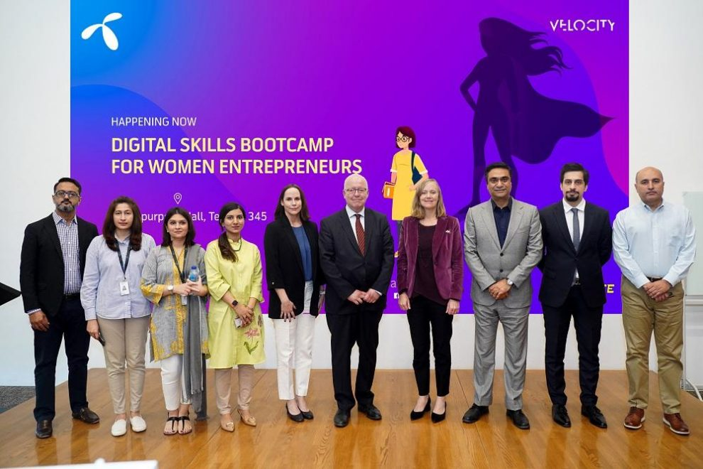 Telenor Pakistan and Facebook imparting digital skills to empower women