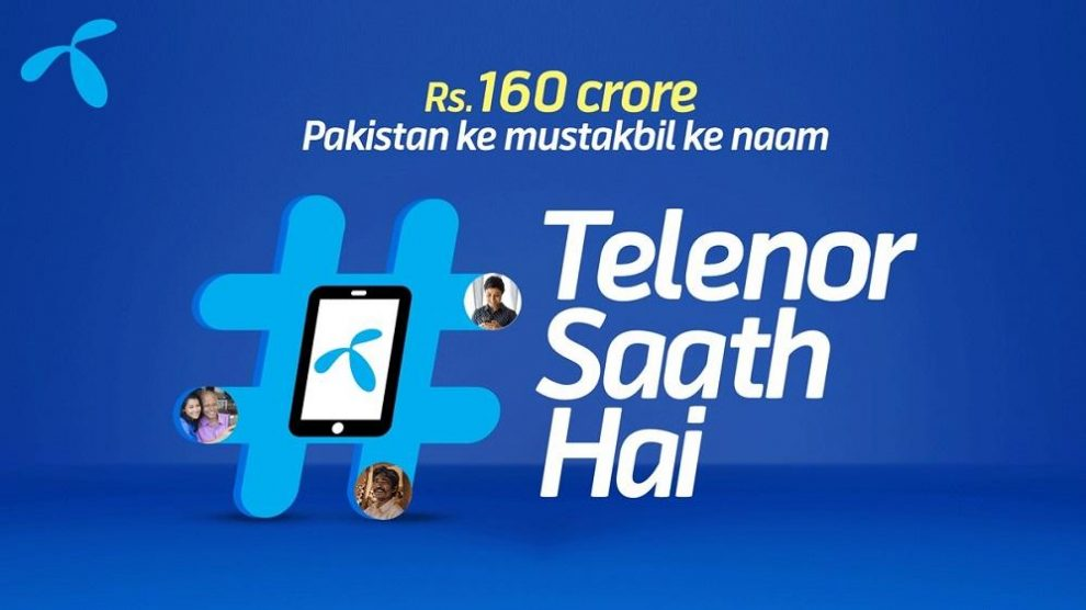 Telenor continues to stand with fellow citizens by pledging PKR 1.6 billion towards COVID relief efforts