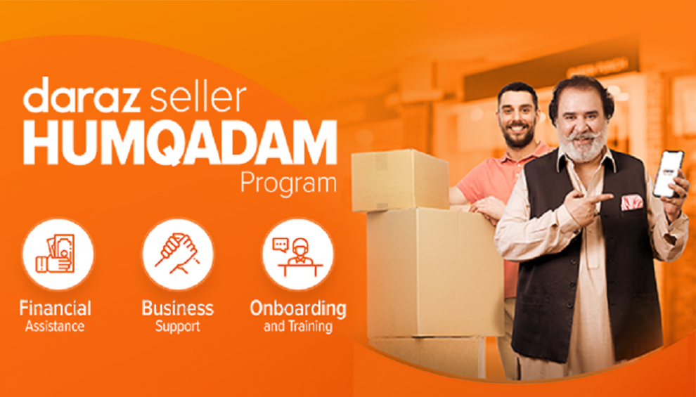 Daraz launches Humqadam program with Rs 4.5 crore subsidy to facilitate businesses transitioning online