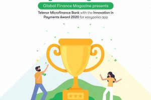 "Telenor Microfinance Bank wins ""The Innovators 2020"" Award for Easypaisa App"