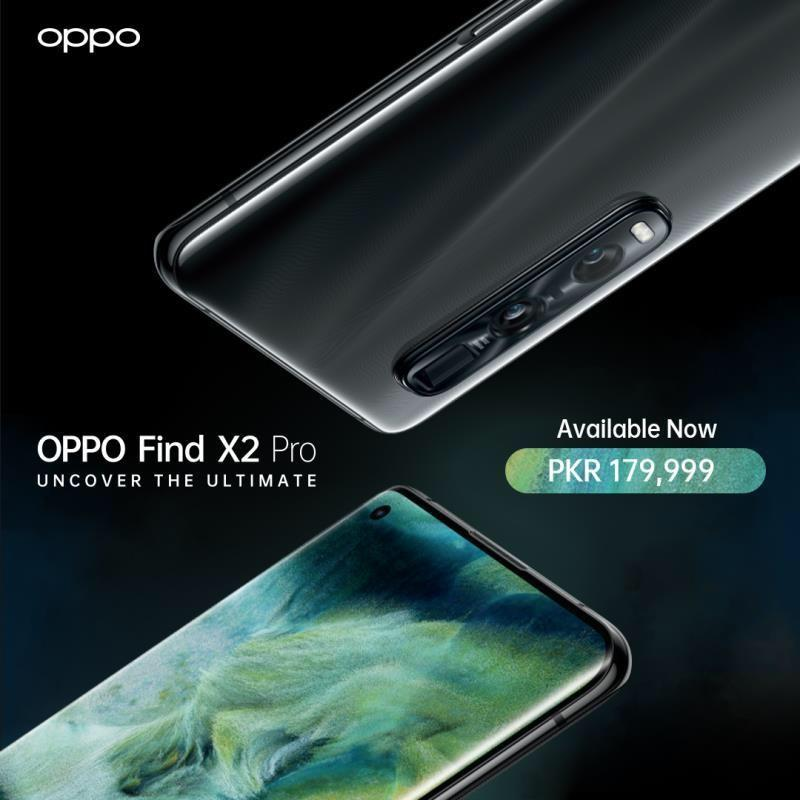 OPPO Launches All-round Flagship Find X2 Pro with Industry-leading Screen in Pakistan