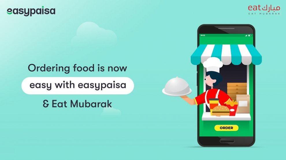 Easypaisa Makes Ordering Food Convenient with Eat Mubarak