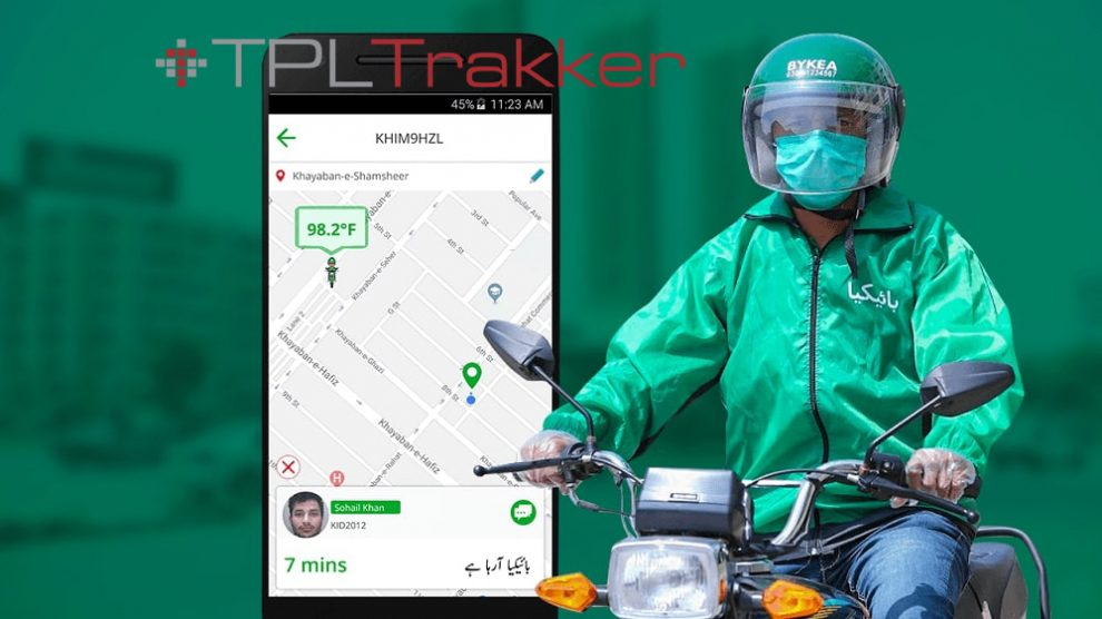 TPL Trakker's Location Based Services to Power Bykea's App