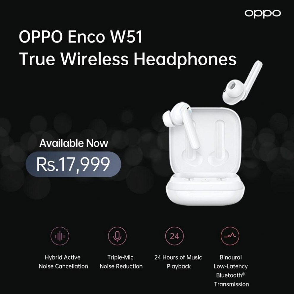 OPPO launches Enco W51 headphones loaded with exciting features