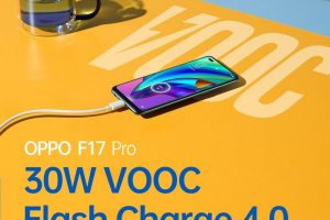 OPPO F17 Pro's 30W VOOC 4.0 Flash Charge will make the youth flaunt the fast life