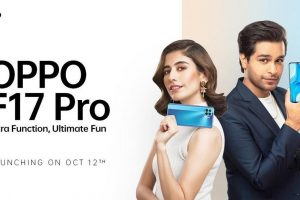 Powerhouse duo – Syra Yousuf and Asim Azhar revealed as OPPO F17 Pro's product ambassadors