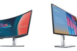 Dell launched a new UltraSharp monitor and a small soundtrack