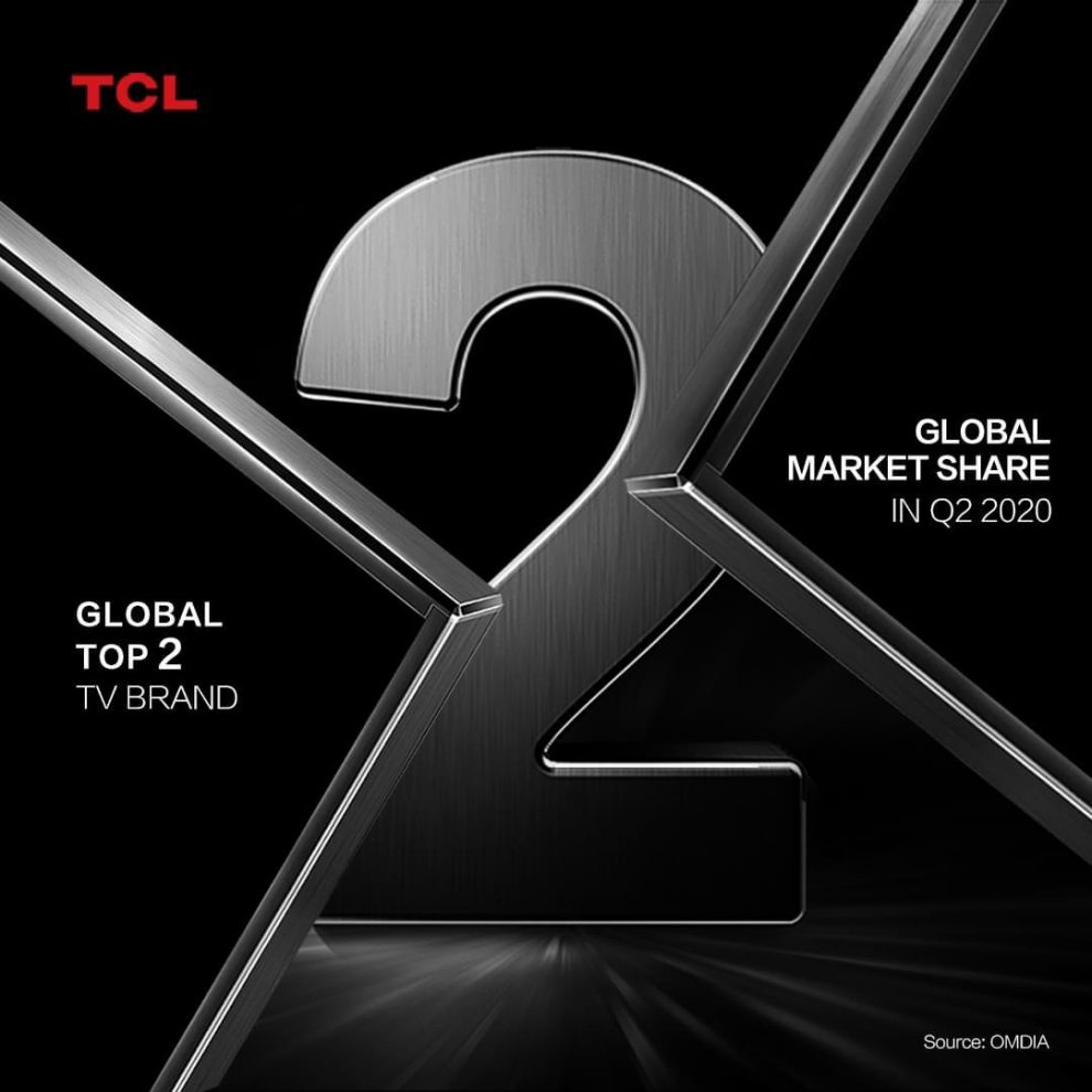 TCL continues to be the 2nd Largest TV Brand worldwide and it's Flagship C815 model bags the Best Buy EISA Award 2020