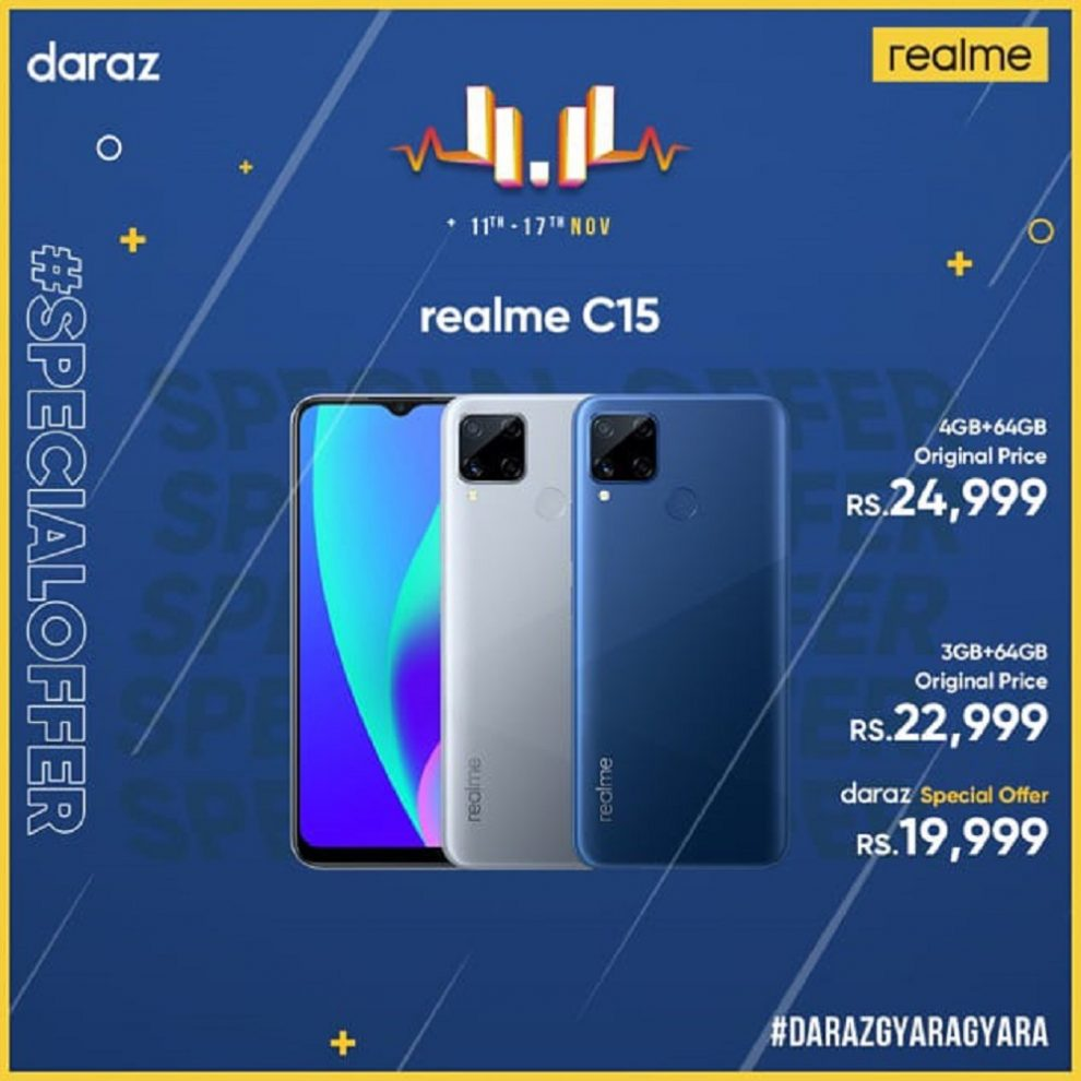 realme's latest offering from the entry level C series