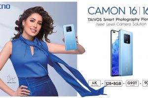 Camon 16 launches in Pakistan with TAVIOS Technology