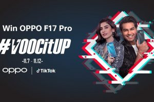 OPPO F17 Pro's #VOOCItUp TikTok Challenge Crosses 274M Views