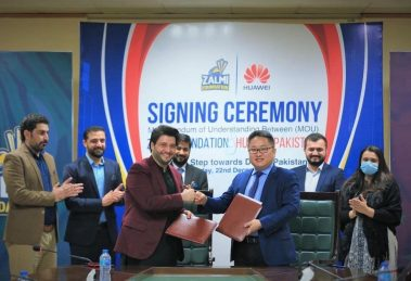 Huawei and Zalmi Foundation Signed Agreement to Develop Entrepreneurial Ecosystem for local Communities