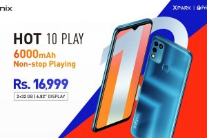 Pakistan's # 1 smartphone brand Infinix unveils latest Hot 10 play at PKR 16,999
